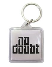"NO DOUBT ""X RAY"" PUSH AND SHOVE SQUARE ACRYLIC KEYCHAIN KEY CHAIN NEW OFFICIAL"