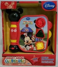 MICKEY MOUSE CLUBHOUSE My First Learning Book Musical Toy DISNEY 12M+ Gift