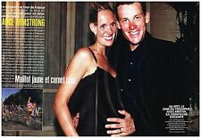 Coupure de presse Clipping 1999 (4 pages) Lance Armstrong