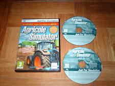 AGRICOLE SIMULATOR...édition gold...jeu complet...sur PC