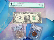 MILLENNIUM COINAGE & CURRENCY SET ONLY 75.000 , PCGS SET, NICE & HARD TO GET