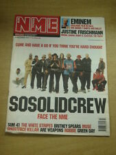 NME 2001 NOV 24 SO SOLID CREW SUM 41 WHITE STRIPES MUSE