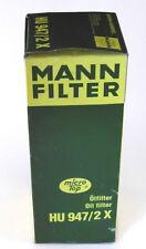 Mann-Filter hu 947/2 x filtro aceite, nuevo, embalaje original