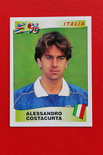 Panini EURO 96 N. 240 ITALIA COSTACURTA New With BLACK back TOPMINT!!