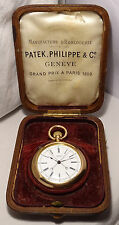 SOLID 18K GOLD PATEK PHILIPPE & Cie GENEVE SPLIT SECOND CHRONOGRAPH RATTRAPANTE