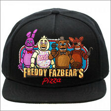 Five Nights At Freddy's Freddy Fazbears Pizza Snapback Hat Baseball Cap LICENSED