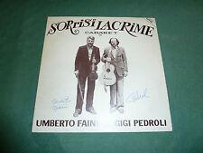 UMBERTO FAINI & GIGI PEDROLI - SORRISI E LACRIME  autografato