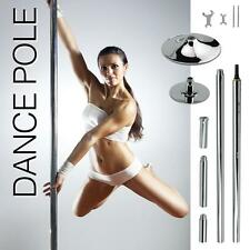 Portable Stripper Fitness Exercise Professional Dance Strip Spinning Pole 45mm