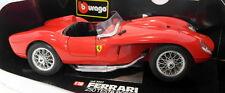 Burago 1/18 Scale diecast - 3007 Ferrari 250 Testa Rossa 1957 Red