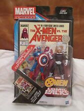 "Magneto Captain America 2 pack 3.75"" Figures New On-Card Marvel Universe TRU"