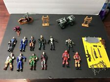Lot of LANARD The Corps!  Soldier Military action figures and accessories