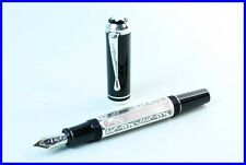 MONTBLANC Writers Editions Marcel Proust Fountain Pen 1999 STERLING SILVER 925