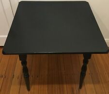 Kitchen Table - Black - Wood - 4 Seater