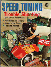 1963 MAGAZINE HOW TO TUNING VTG SPEED PARTS EQUIPMENT OLD DIY HOP UP DRAG RACING