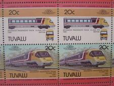 1981 BR APT (Advanced Passenger Train) 50-STAMP SHEET (Leaders of the World)