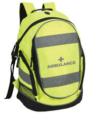 Ambulance Rucksack/Work Bag - Paramedic First Responder First Aid