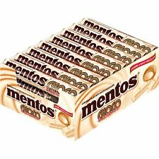 "24 x Rolls of mentos - ""Choco & Caramel White"" (= 912g  / 2.01lbs / 32.17oz)"