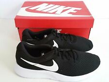 Nike Men's Tanjun Running Shoes Black/White 81654 011 *NEW* With Box