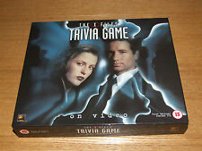 The X Files Trivia Game On Video First Edition Seasons 1-3 Unused Condition