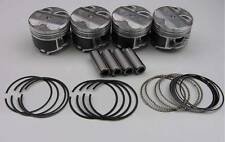 "Nippon Racing JDM ITR USDM P73 Pistons NPR Rings B18C1 GSR 81.50mm .020"" Over"