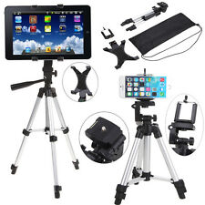 Professional Camera Tripod Stand Mount for Tablet iPad Smartphone iPhone Samsung