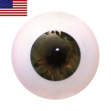 Lauschaer glass eyes 20mm darktopaz for reborn doll kits
