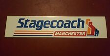 Stagecoach Manchester bus stop sticker x 1