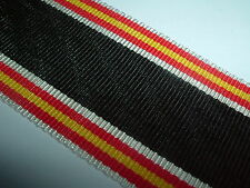 MEDAL RIBBON-GOOD OLD QUALITY GERMAN/GERMANY SPANISH WAR CROSS 1936-1939