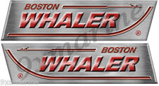 "Boston Whaler Remastered Decal Set. Left/Right 15"" X 4"" each- laminated"