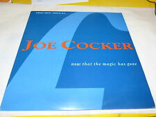 JOE COCKER - NOW THAT THE MAGIC!!!RARE FRENCH PROMO 12""
