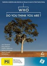 Who Do You Think You Are? DVD NEW