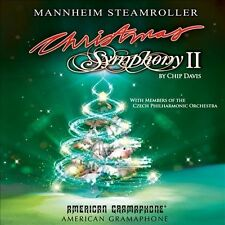MANNHEIM STEAMROLLER - CHRISTMAS SYMPHONY II (CD 2013) NEW * 2 BONUS TRACKS *