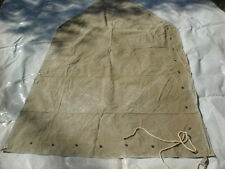 U.S.ARMY : 1942 WWII TENT, SHELTER HALF 1/2 (Pup Tent) 1942 WWII MILITARIA