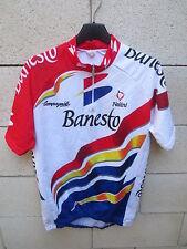 VINTAGE Maillot cycliste BANESTO Tour de France 1996 INDURAIN camiseta NALINI 4