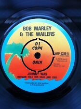 """Bob Marley & The Wailers - Johnny Was / Cry To Me 7"""" Vinyl Promo Island WIP 6296"""