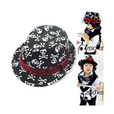 New Baby Girl Boy Child Hat Spring Punk Rock Skull Printing Summer Head Cap Hat