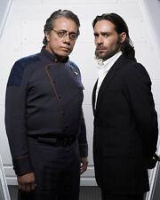 Edward James Olmos & James Callis (22610) 8x10 Photo