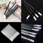 50/100 Salon Pro Disposable Lipstick Gloss Wands Lip Stick Brush Applicator Tool