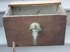 Antique Bar Beer Tap / Ice Box Line Cooler Vintage