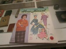 AUSTRALIAN HOME JOURNAL. APRIL 1961 FASHION. COMPLETE WITH UNUSED PATTERNS.