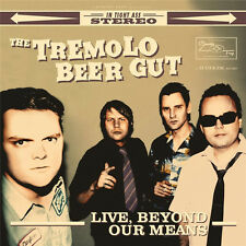 TREMOLO BEER GUT LIVE BEYOND OUR MEANS CRUNCHY FROG RECORDS LP VINYLE NEUF NEW