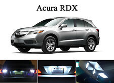Xenon White LED Package - License Plate + Vanity + Reverse for Acura RDX (8 Pcs)