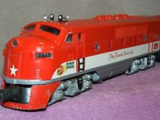 LIONEL #2245 TEXAS SPECIAL F-3 AB POST WAR DIESEL LOCOMOTIVE COMPLETE BOXED!!