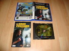 LA GRAN EVASION THE GREAT ESCAPE CON STEVE McQUEEN PARA LA PS2 USADO COMPLETO