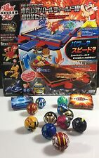 Bakugan Baku Tech Battlefield W Super DX SET Brawlers Cards Extras US seller