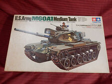 1/35 Tamiya Motorized US Army Medium Tank M 60 A 1 # 28 70's OB F/S Bags NICE!