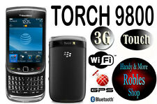 BlackBerry Torch 9800 4GB (Ohne Simlock) 3G WLAN TOUCH 5,0MP GPS TOP Slide OVP