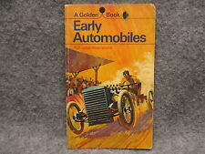 Vintage 1968 Early Automobiles A Golden Book w/ Full Color Illustrations Rachlis