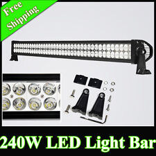 STRAIGHT 42 INCH 240 WATT 80 LEDS WORK FOG LIGHT BAR FOR OFFROAD CAR SUV SWIFT
