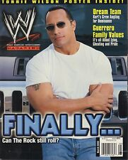WWE Magazine March 2003 The Rock, Eddie Guerrero VG 032916DBE